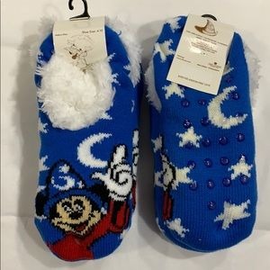 Disney Fantasia Mickey Mouse Slipper Socks!